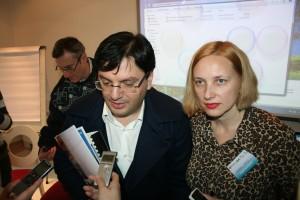 Nicolae Banicioiu ministrul Sanatatii si Alexandra Manaila