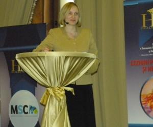 Alexandra Manaila, moderator eveniment Health Meeting -  editia a II-a