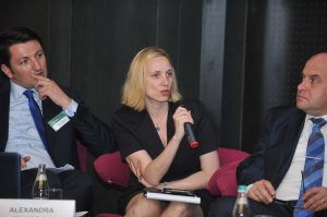 Discutii cu industria farma la  Health Forum 2015, foto Business Mark